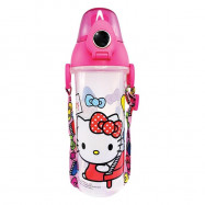 image of Sanrio Hello Kitty BPA Free 550ML Water Bottle