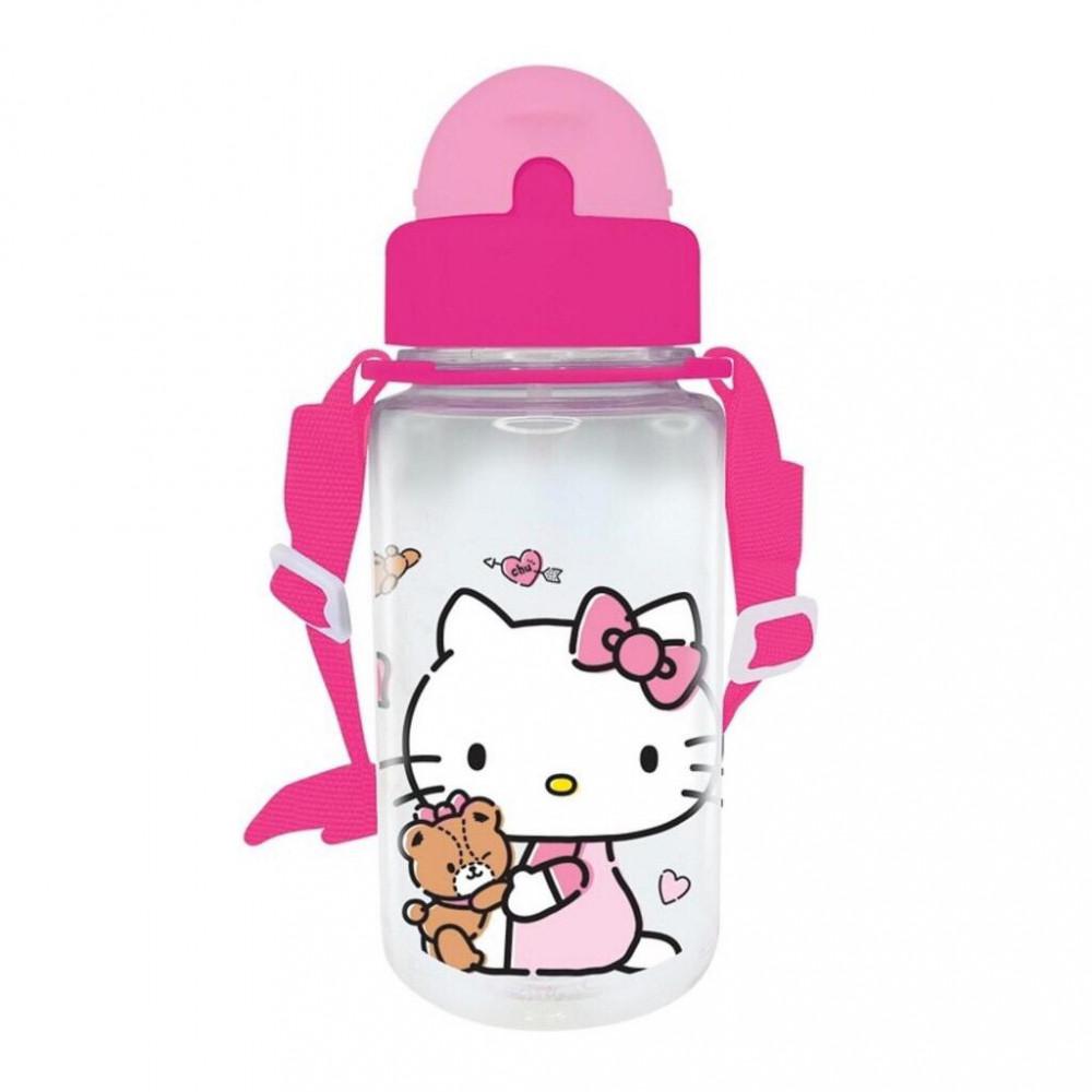 Hello Kitty BPA Free 350ML Tritan Bottle With Straw