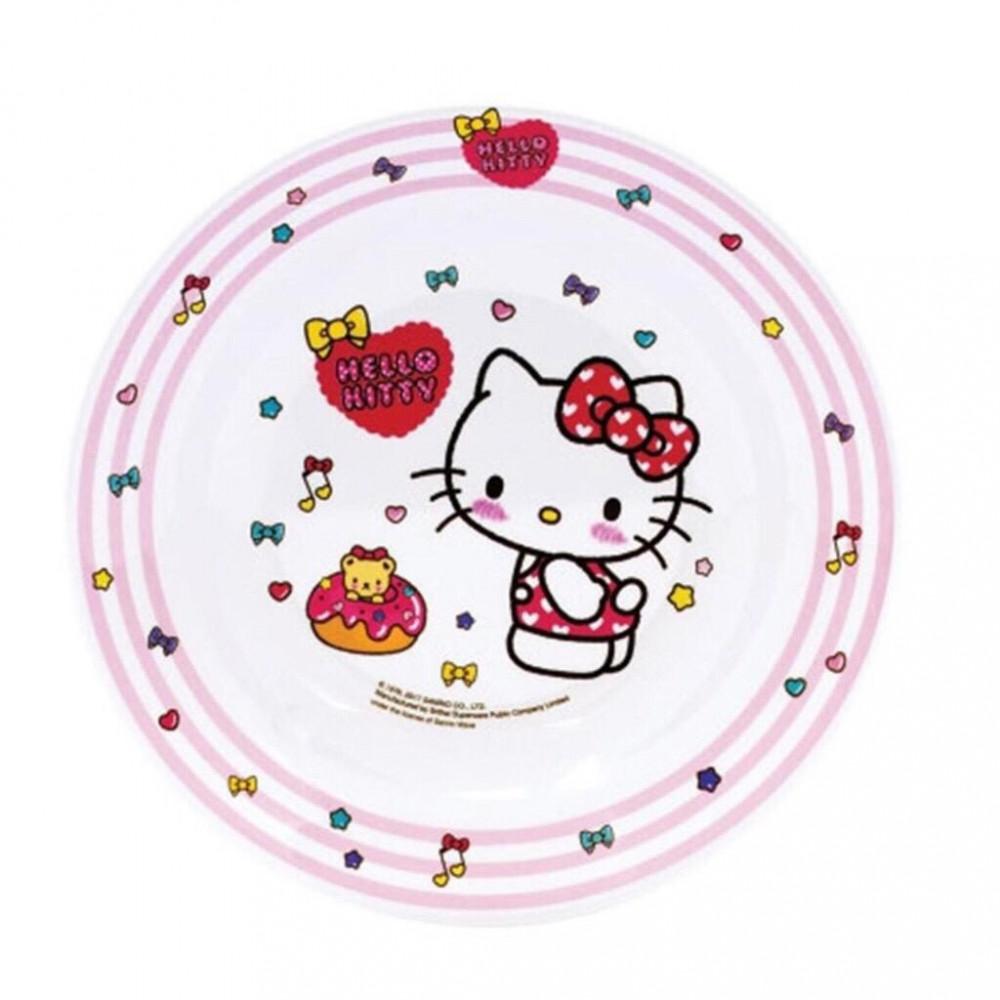 Sanrio Hello Kitty Melamine Deep Plate 8 Inches