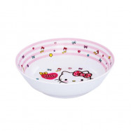 image of Sanrio Hello Kitty Melamine Soup Bowl 7.5 Inches