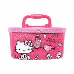 Hello Kitty Coin Pink Color Coin Bank With Lock