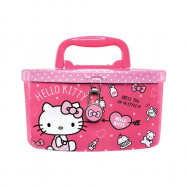 image of Hello Kitty Coin Pink Color Coin Bank With Lock