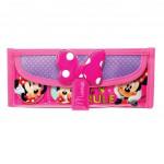Disney Minnie Square Pencil Bag Minnie Ribbon with Pocket