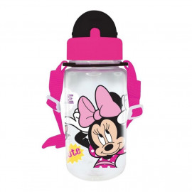 image of Disney Minnie BPA Free 350ML Tritan Bottle With Straw