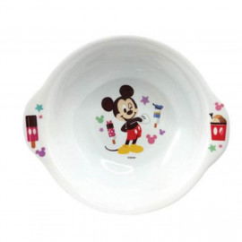 image of Disney Mickey 6 inch Melamine handle bowl