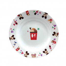 image of Disney Mickey 8 Inches Deep Plate