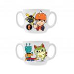 Boboiboy Galaxy Double Handle Mug 3.5 Inches
