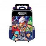 Boboiboy Galaxy Primary School Trolley Bag - Heroes Of The Galaxy