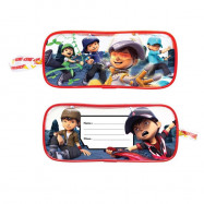 image of Boboiboy Galaxy 5pcs Transparent Square Pencil Bag Set