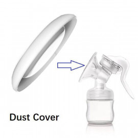 image of Manual Auto Breast pump dust cover cap x 1 pc