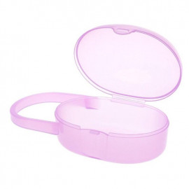 image of Baby Soother Pacifier Nipple Cradle Dust Case Travel Holder x 1 pc