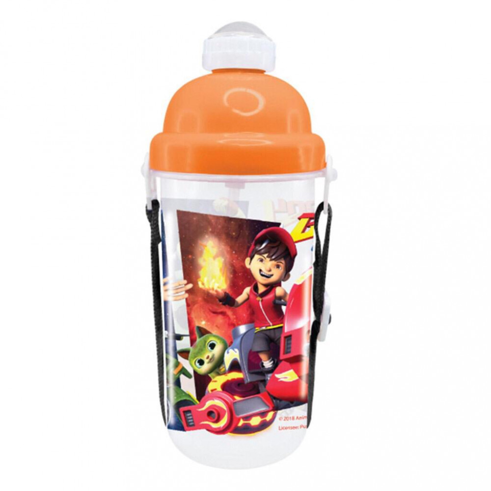 BoBoiBoy Galaxy 350ML BPA Free Polypropylene Water Bottle
