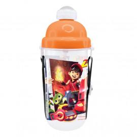 image of BoBoiBoy Galaxy 350ML BPA Free Polypropylene Water Bottle