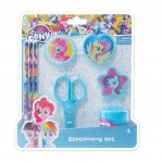 Little Pony 8pcs Stationery Set - Blue Colour