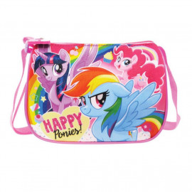 image of Little Pony Square Sling Bag - Happy Ponies