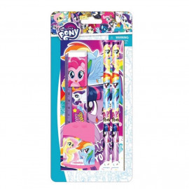 image of Little Pony 6pcs Stationery Set With Notebook