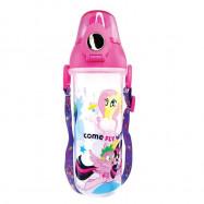 image of My Little Pony 550ML BPA Free Polypropylene Water Bottle