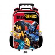 image of Transformers Bumblebee School Kindergarten Nursery Kids Trolley Bag