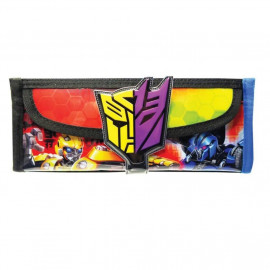 image of Transformers Bumblebee Square Pencil Bag With Pocket