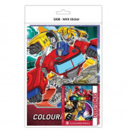 image of Transformers Activity & Colouring Book With Colour Pencil