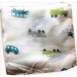Baby napkin 8 pcs with cartoon printed (76x76 cm)
