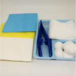 Sterilpad Dressing pack with Build In Tray