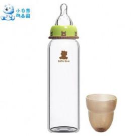 image of Snowbear Glass Milk bottle 240ml/8oz