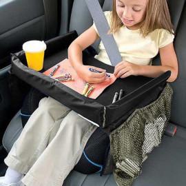 image of Waterproof Kids/Toddler Car Seat Play Travel Tray