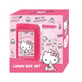 image of Sanrio Hello Kitty Lunch Box and Bottle Gift Set