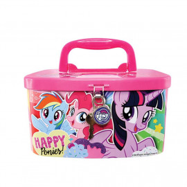 image of Little Pony Coin Bank With Lock x 1pc