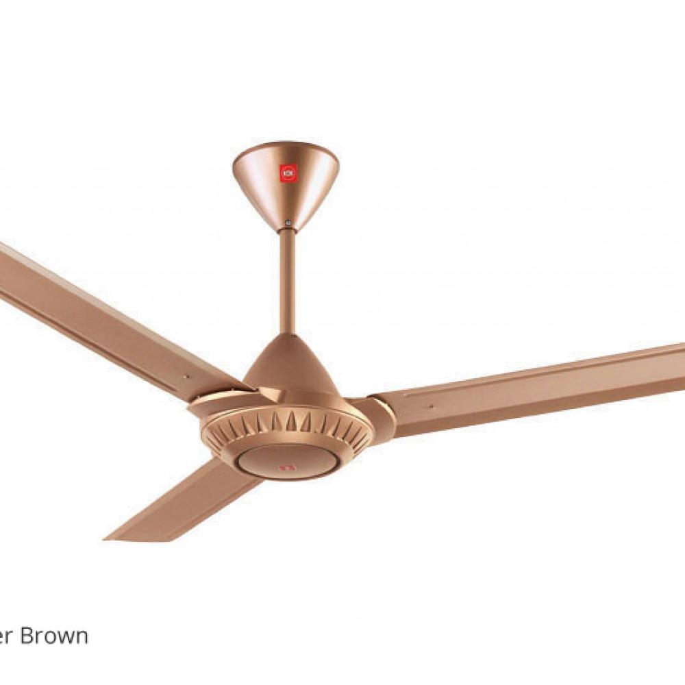 KDK Regulator Type 3-Blades Ceiling Fan K15WO (150cm/60″) TWIN PACK