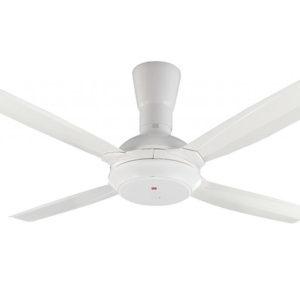 KDK Remote Control Type 4-Blades Ceiling Fan K14X5-WT (140cm/56″)