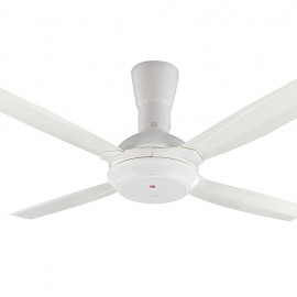 image of KDK Remote Control Type 4-Blades Ceiling Fan K14X5-WT (140cm/56″)