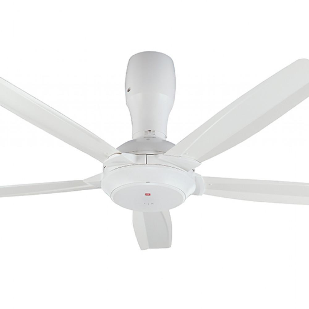 KDK Remote Control Type 5-Blades Ceiling Fan K14Y5-WT  (140cm/56″)