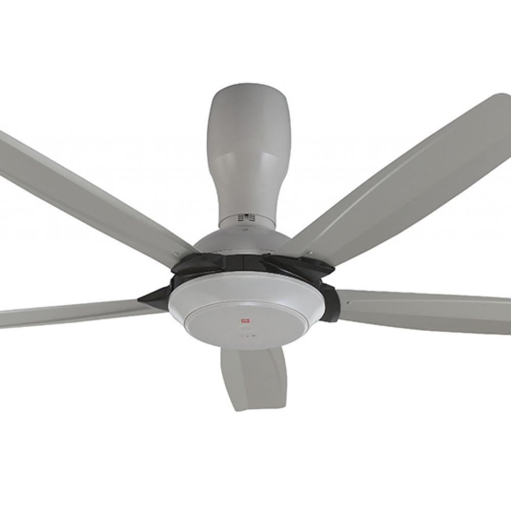 KDK Remote Control Type 5-Blades Ceiling Fan K14Y5-GY (140cm/56″)