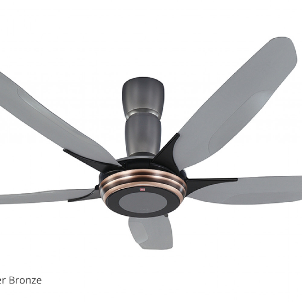 KDK V TOUCH Remote Control Type 5-Blades Ceiling Fan K15Y2-CO (150cm/ 60″)