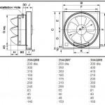 KDK 20AQM8 Wall Mounted Ventilating Fan (20cm/8'')