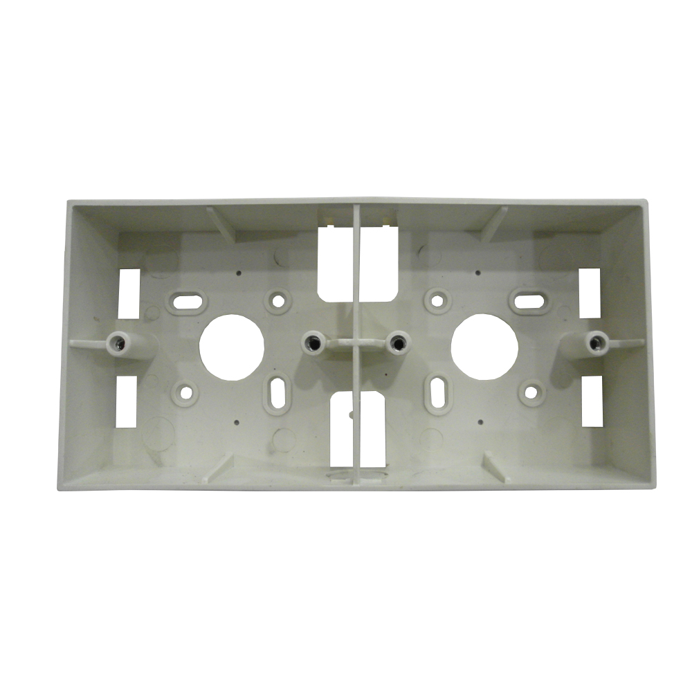 "PVC Electrical Nut Box 3""x7"" Two Partition (WHITE)"