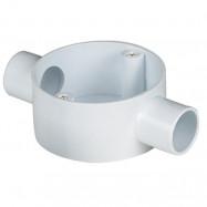 image of PVC CONDUIT FITTING 2 WAY THROUGH BOX