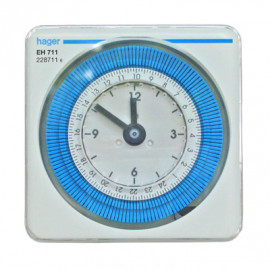 image of HAGER ANALOGUE TIME SWITCH (DAILY) 230V
