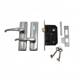 image of FUDA 3-LEVER MORTICE DOOR LOCK