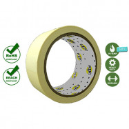 image of Apollo M502 Premium High Temperature Masking Tape (∼16.5MTR) available in [ 18mm | 24mm | 36mm | 48mm ]