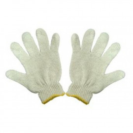 image of Knitted Cotton Hand Gloves