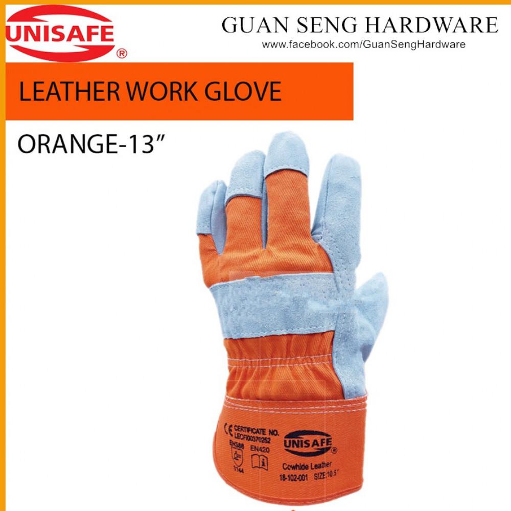 UNISAFE Premium Cowhide Work Glove