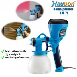 image of Haupon TM-71 HVLP Electric Spray Gun - Home Painter Set, Electric Spray Gun