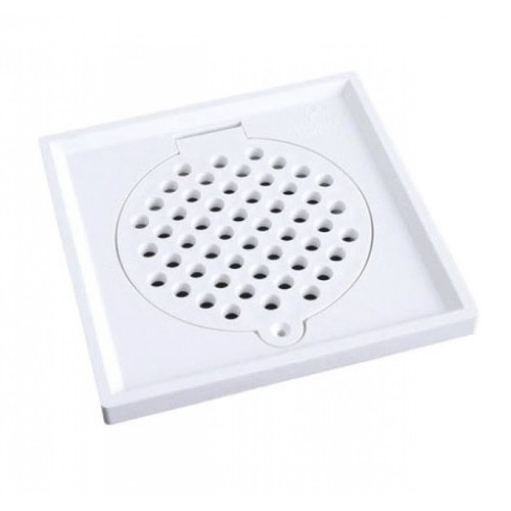 PVC Floor Grating / Perangkap Lantai / Floor Drain / Floor Trap - AVAILABLE IN [ 4x4 | 6x6 ]