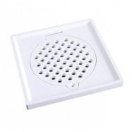 image of PVC Floor Grating / Perangkap Lantai / Floor Drain / Floor Trap - AVAILABLE IN [ 4x4 | 6x6 ]
