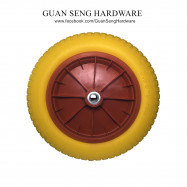 image of Wheel Barrow Handtruck Non Pneumatic Flat Free PU Tyre