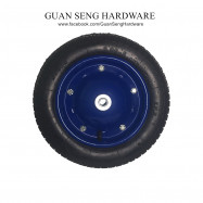 image of WheelBarrow Handtruck Pneumatic Air Filled Tyre