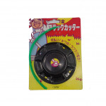 BLACK CUTTER NYLON STRING FOR GRASS CUTTER WITH PLATE